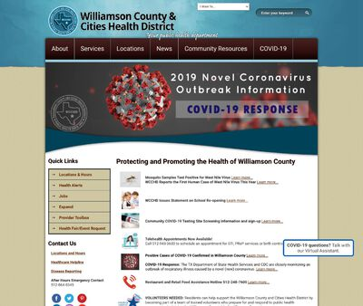 STD Testing at Williamson County and Cities Health District Cedar Park Clinic