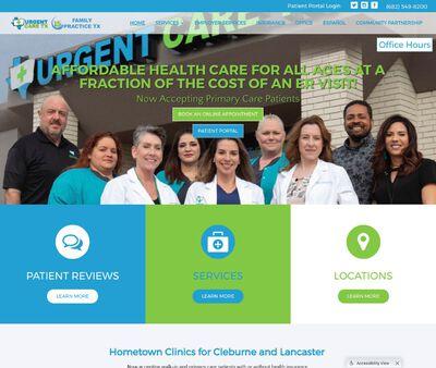 STD Testing at Urgent Care TX - Cleburne TX