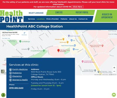 STD Testing at ABC Women & Children Clinic