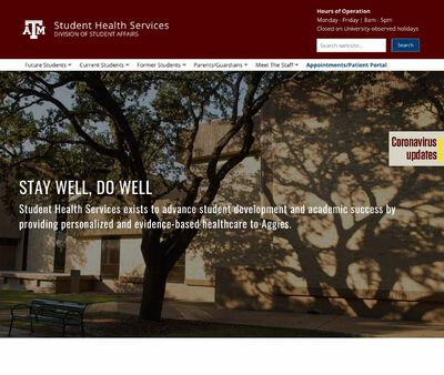 STD Testing at Student Health Services - Texas A&M University