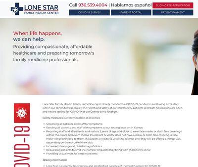 STD Testing at Lone Star Family Health Center, Conroe Family Health Center