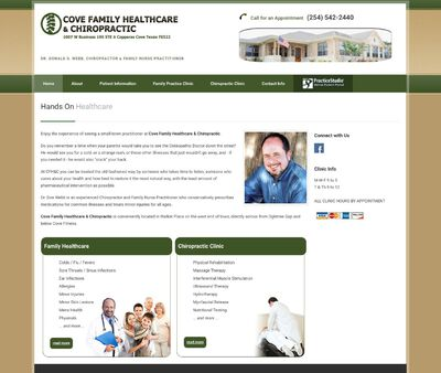 STD Testing at Cove Family Healthcare and Chiropractic