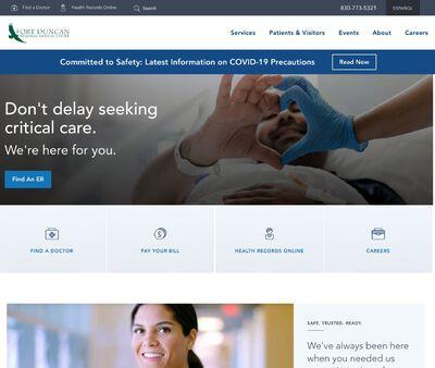 STD Testing at Fort Duncan Regional Medical Center