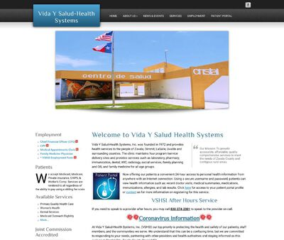 STD Testing at Vida y Salud Health Systems Incorporate