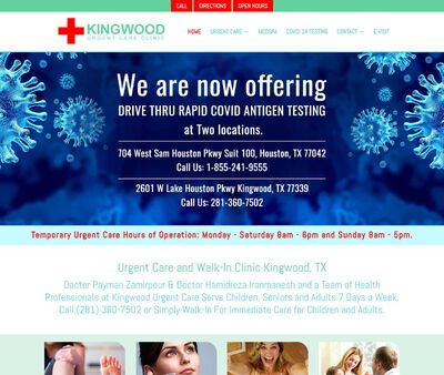 STD Testing at Kingwood Urgent Care