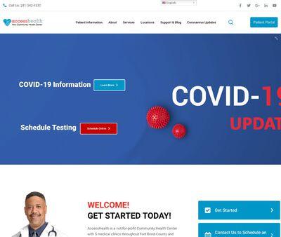 STD Testing at Access Health (Missouri City Center)