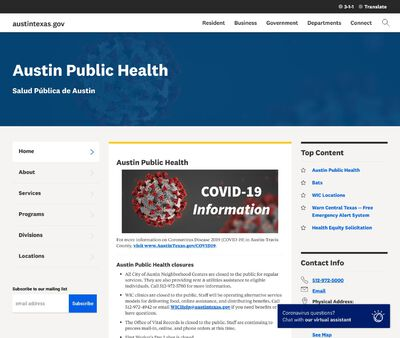 STD Testing at Austin/Travis County Health and Human Services Department