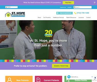 STD Testing at St. Hope Foundation – Dickson/Texas City