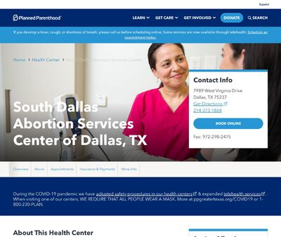 STD Testing at Planned Parenthood - South Dallas Surgical Health Services Center