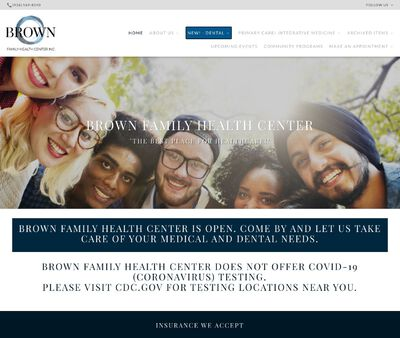 STD Testing at Brown Family Health Center