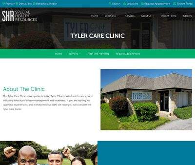 STD Testing at Special Health Resources Tyler (SHRT) Care Clinic