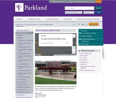STD Testing at Parkland Health and Hospital Systems (Bluitt-Flowers Health Center)