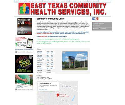 STD Testing at Eastside Community Clinic
