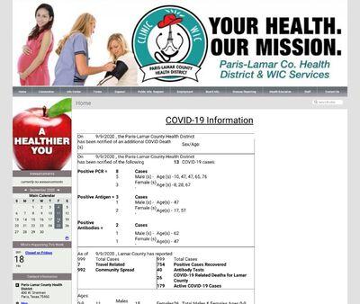 STD Testing at Paris-Lamar County Health Department