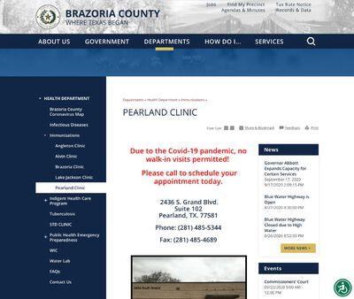 STD Testing at Brazoria County Health Department