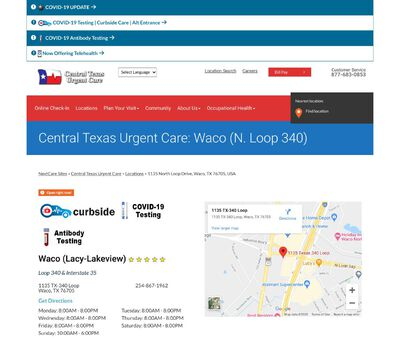 STD Testing at Central Texas Urgent Care