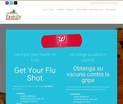 STD Testing at Family Healthcare - Cedar City Medical Clinic