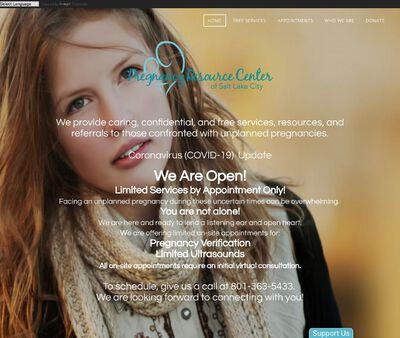 STD Testing at Pregnancy Resource Center of Salt Lake City