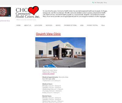 STD Testing at Community Health Centers Inc., Oquirrh View Medical & Dental Clinic