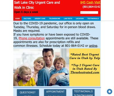 STD Testing at Salt Lake City Urgent Care and Walk in Clinic
