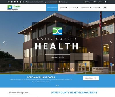 STD Testing at Davis County Health Department (Clearfield Main Campus)