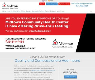 STD Testing at Midtown Community Health Center