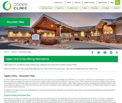 STD Testing at Ogden Clinic | Mountain View