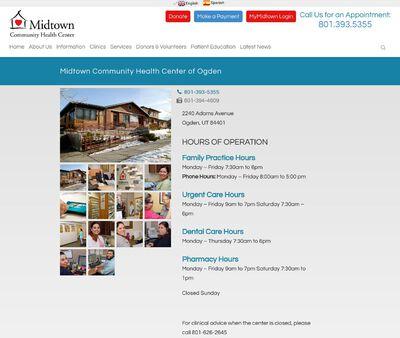 STD Testing at Midtown Community Health Center (Midtown Community Health Center of Ogden)