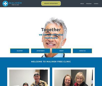 STD Testing at Maliheh Free Clinic