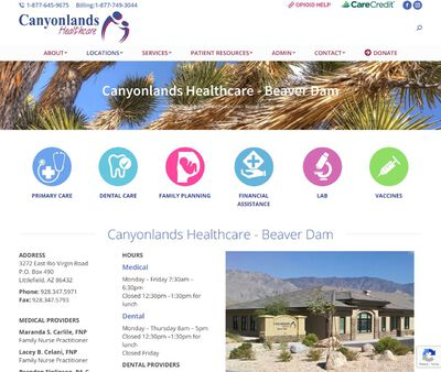 STD Testing at Canyonlands Healthcare (Beaver Dam Health Center)