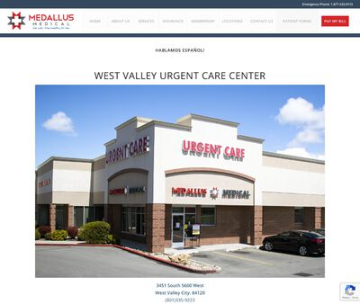 STD Testing at Medallus Urgent Care West Valley