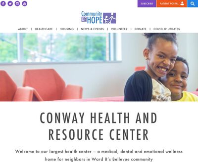STD Testing at Community of Hope Health Services (Conway Health and Resource Center)