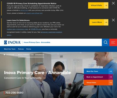 STD Testing at Inova Primary Care - Annandale