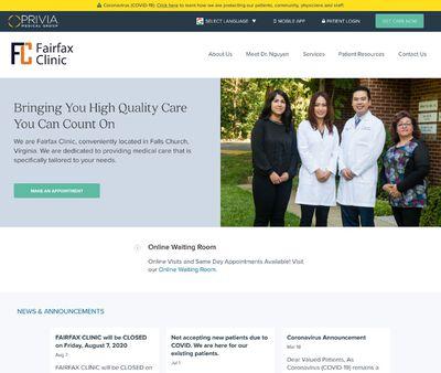 STD Testing at Fairfax Clinic