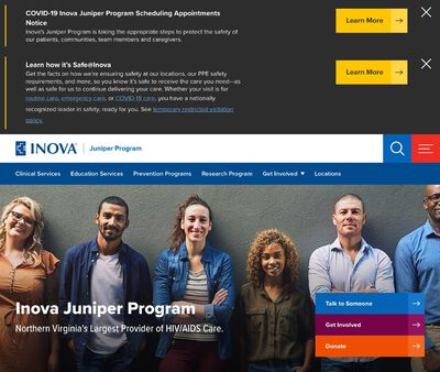 STD Testing at Inova Healthcare System,Inova Juniper Program