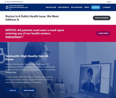 STD Testing at Planned Parenthood of Metropolitan Washington DC Incorporated, Falls Church Center