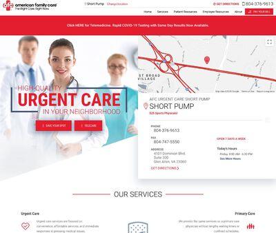 STD Testing at AFC Urgent Care Short Pump
