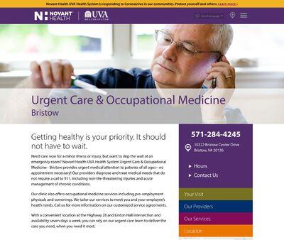 STD Testing at Novant Health UVA Urgent Care & Occupational Medicine – Bristow