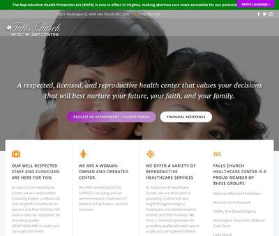 STD Testing at Planned Parenthood of Metropolitan Washington DC Incorperated Falls Church Center
