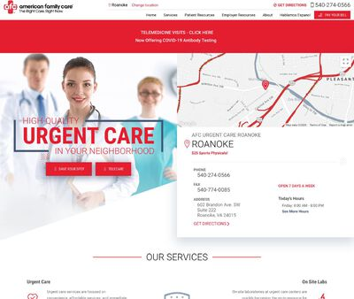 STD Testing at AFC Urgent Care Roanoke