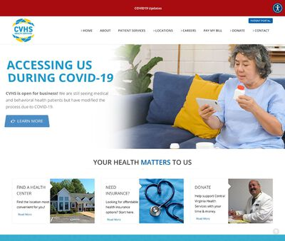STD Testing at Central Virginia Health Services (Charles City Regional Health Services)
