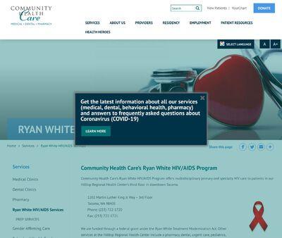 STD Testing at Ryan White HIV/AIDS Services
