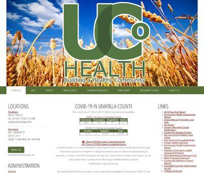 STD Testing at Umatilla County Health Department