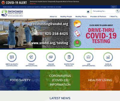 STD Testing at Snohomish Health Department