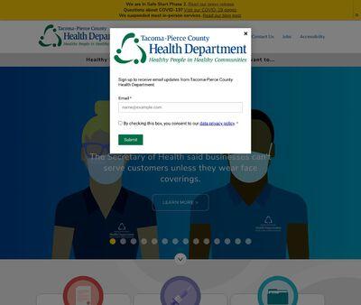 STD Testing at Tacoma Pierce County Health Department