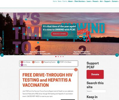 STD Testing at Pierce County AIDS Foundation (PCAF)