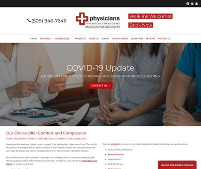 STD Testing at Physicians Immediate Care & Medical Centers PS