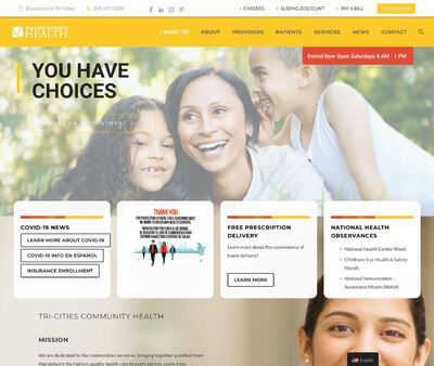 STD Testing at Tri-Cities Community Health