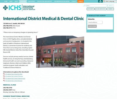 STD Testing at International District Medical and Dental Clinic
