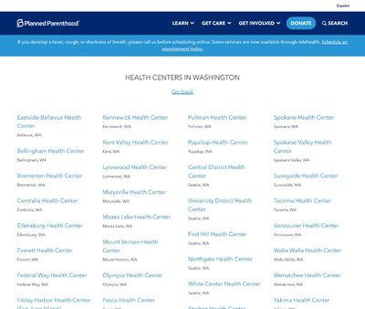 STD Testing at Planned Parenthood-Wenatchee Health Center